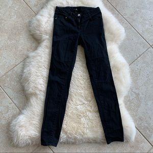 H&M / black denim pants